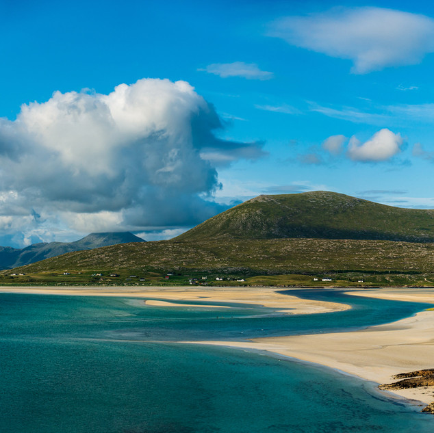 Seilebost Beach to Losgaintir (Luskentyre Beach), Isle of Harris