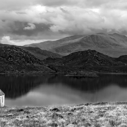 (537) Deserted Stone Cottage, Loch Stack