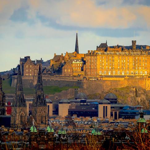 (1556) Edinburgh Castle, St Mary's Cathe