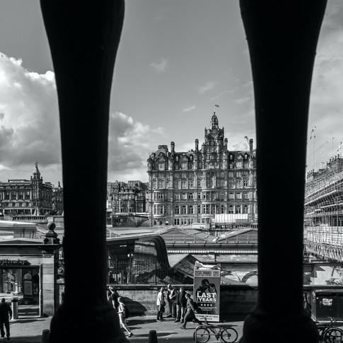 (1405) 'Behind Bars' The Scotsman Steps,