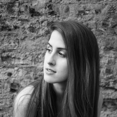 Black & White Portrait, Edinburgh