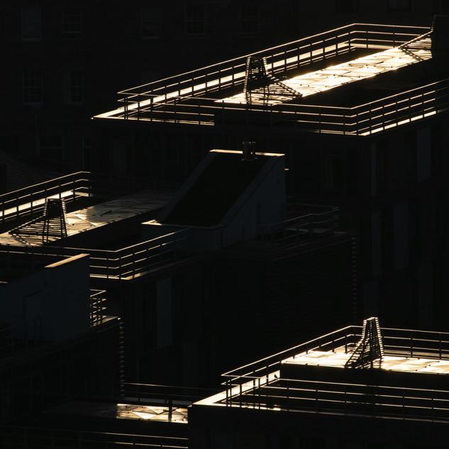 Evening Sunlight, Edinburgh Apartments