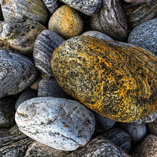 Stones on Beach, Isle of Lewis, Scotland
