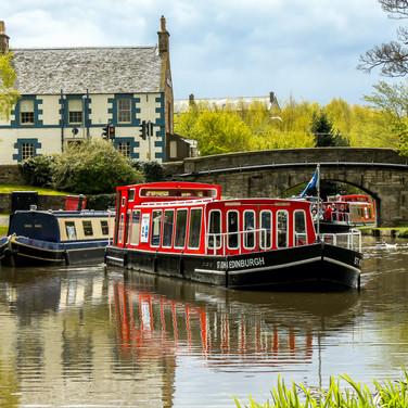 (313) St John Edinburgh Canal Boat, The