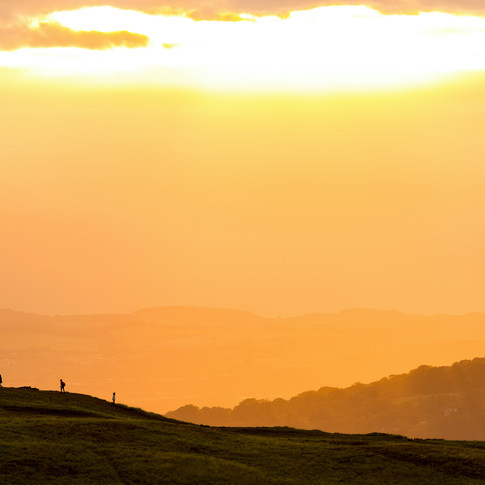 (822) Golden Hour Sunset on Arthur's Sea