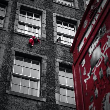 (1196) Father Christmas, Santa, Red Phon