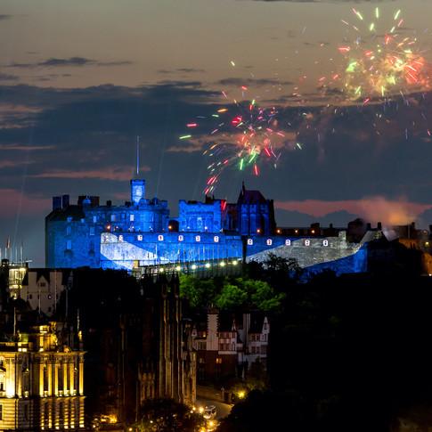(398) Edinburgh Castle, St Andrew's Cros