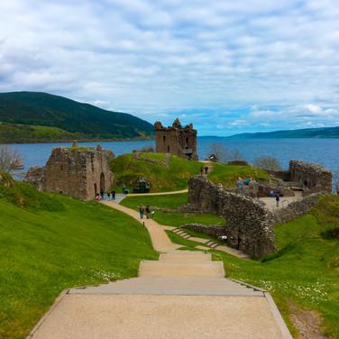 (373) Urquhart Castle and Loch Ness, Dru
