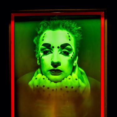 (561) Boy George, Hologram Portrait Gall