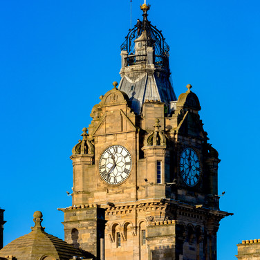 (356) The Balmoral Hotel Clock Tower, 1