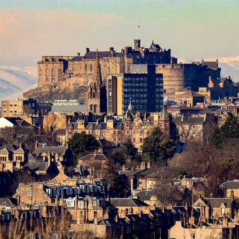 (1288) Edinburgh Castle From Craigmillar