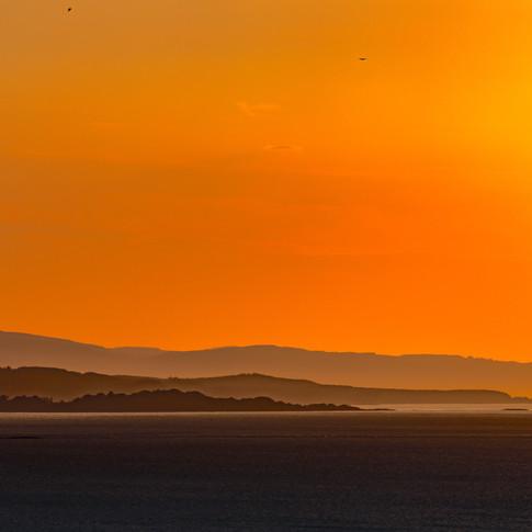 (706) Duart Point, Firth of Lorn, at Sun