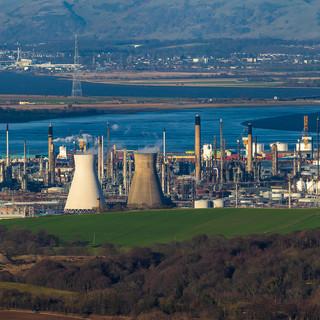 Ineos Grangemouth Oil Refinery, Scotland