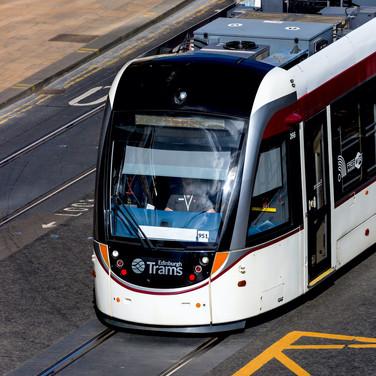 (480) City of Edinburgh Tram, Princes St