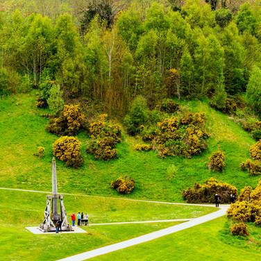(376) The Trebuchet at Urquhart Castle,