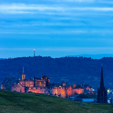 (763) Edinburgh Castle, The Hub and Cors