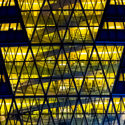 (65) City Hall at night, Greater London