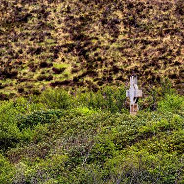 (556) Stone Cross, Island in Loch Stack,