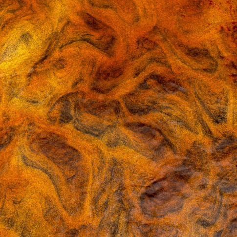 (1473) Coloured Sand in Burn, Beach, Isl