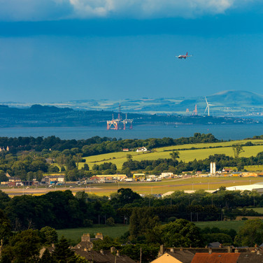 (741) Final Approach over the Firth of F
