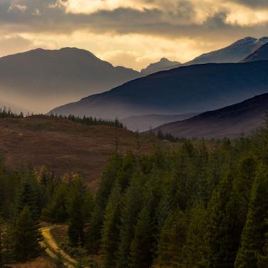 (305) Road to the hills, Loch Loyne towa