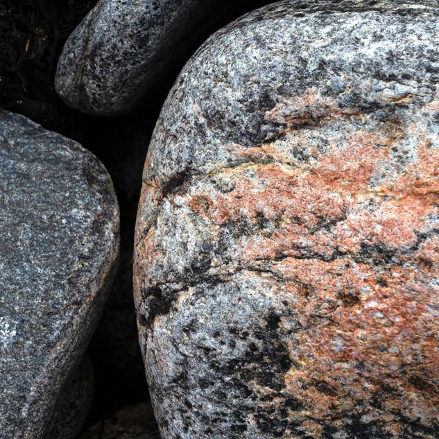 Pink Stone, Beach on The Isle of Lewis, Scotland