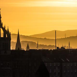 Edinburgh Golden Hour