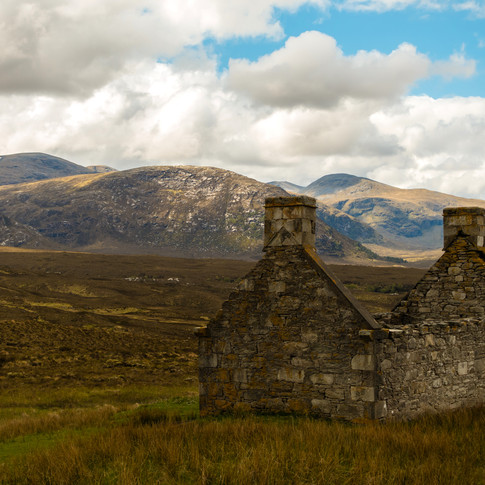 (210) (PO) Deserted croft looking to Sai