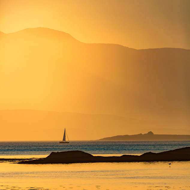 Yachting in the Golden Hour, Argyll & Bute, Scotland