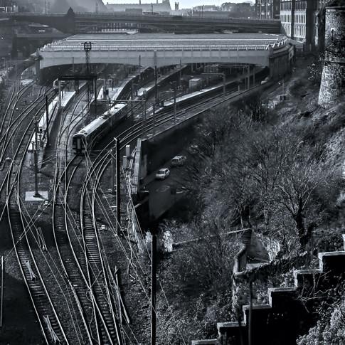 (1240) Edinburgh Waverley Railway Statio
