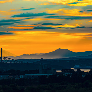 (633) Golden, Blue Sunset over the Firth