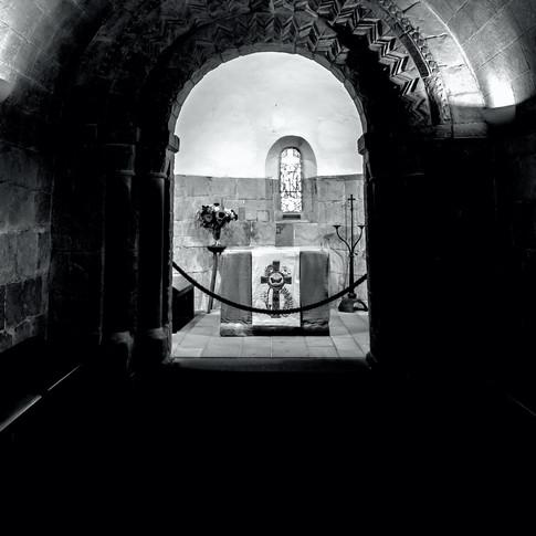 (417) Interior of St Margaret's Chapel,