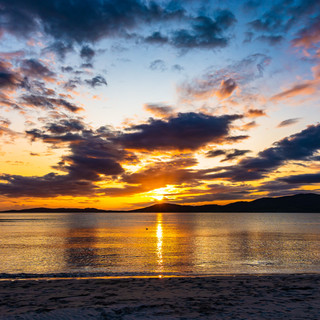 Sunset at Seilebost Beach, Isle of Harris, Scotland