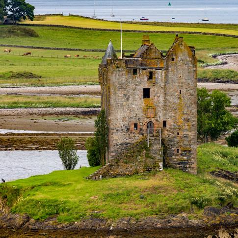 (697) Castle Stalker, Port Appin, Argyll