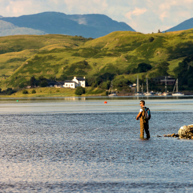 (804) Fishing Loch Feochan, Ardentallen