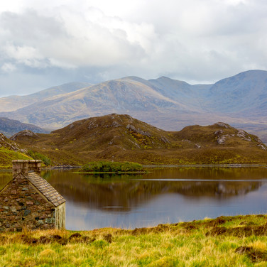(164) Loch Stack Bothy and Stone Cross I
