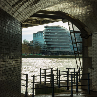 (61) View of City Hall and the River Tha