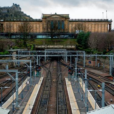 (350) Edinburgh Waverley Railway Station