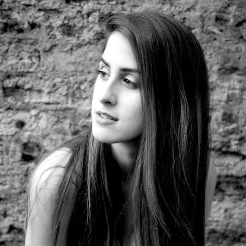 Model Portrait, Edinburgh