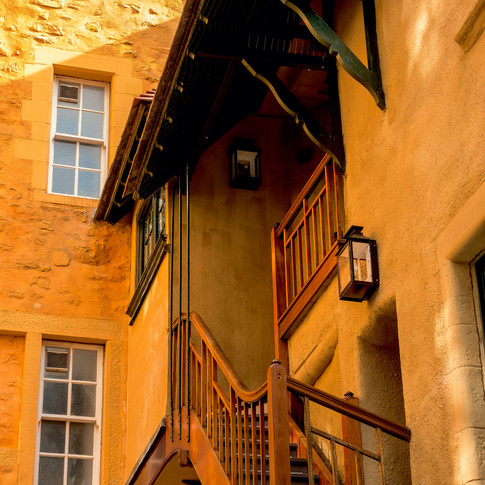(788) Exterior Stair at Riddle's Court,