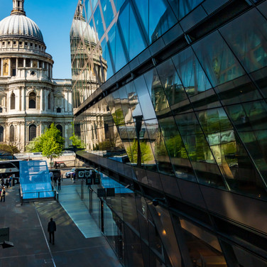 (148) St. Paul's Cathedral and One New C