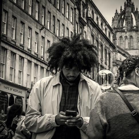 (736) Bubble, Royal Mile, Edinburgh, Sco