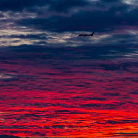 (608) Fiery Red Sunset over Fife, as Pla