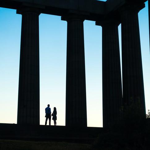 (209) (PO) Couple enjoying a moment, The