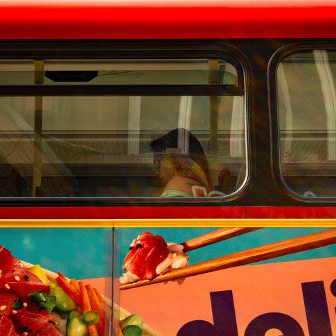 (168) London Bus, Chinatown, City of Wes