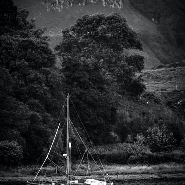 (650) Yacht, Loch Feochan, Dunach, Argyl