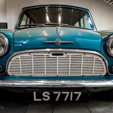 (1245) Morris Mini Minor Motor Car, LS77