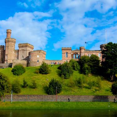 (248) Inverness Castle, River Ness, Inve