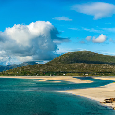 (1447) Seilebost Beach Dunes to Losgaint