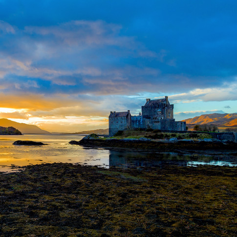 (287) Eilean Donan Castle and Loch Alsh,